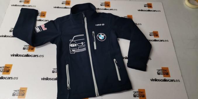 SOFT SHELL PERSONALIZADA BMW 120D VINILOS CALIO CARS LOJA GRANADA