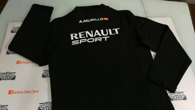 CHAQUETA SOFT SHELL PERSONALIZADA RENAULT