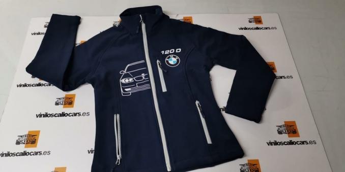 SOFT SHELL PERSONALIZADA BMW S1 120D VINILOS CALIO CARS LOJA GRANADA