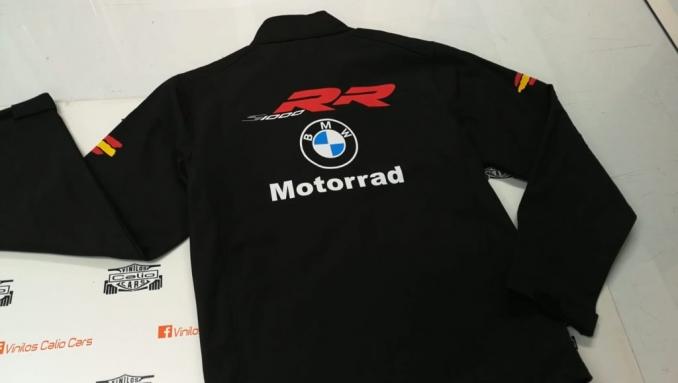 SOFT SHELL BMW MOTORRAD PERSONALIZADA VINILOS CALIO CARS LOJA GRANADA