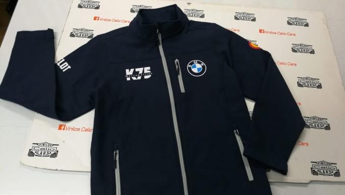 SOFT SHELL BMW K75 METROPOLITAN PERSONALIZADA VINILOS CALIO CARS LOJA GRANADA