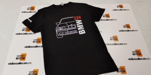 CAMISETA BMW E34