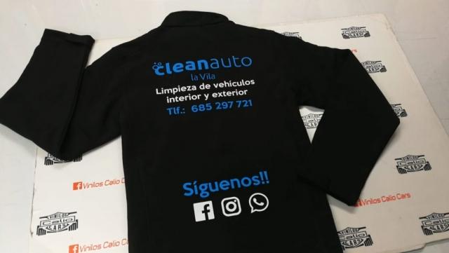 SOFT SHELL CLEANAUTO PERSONALIZADA VINILOS CALIO CARS LOJA GRANADA