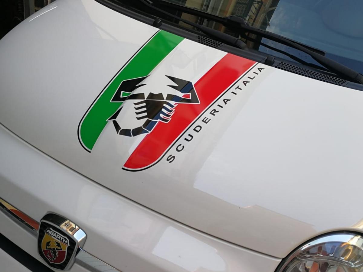 VINILOS ABARTH 500 PERSONALIZADO VINILOS CALIO CARS LOJA GRANADA