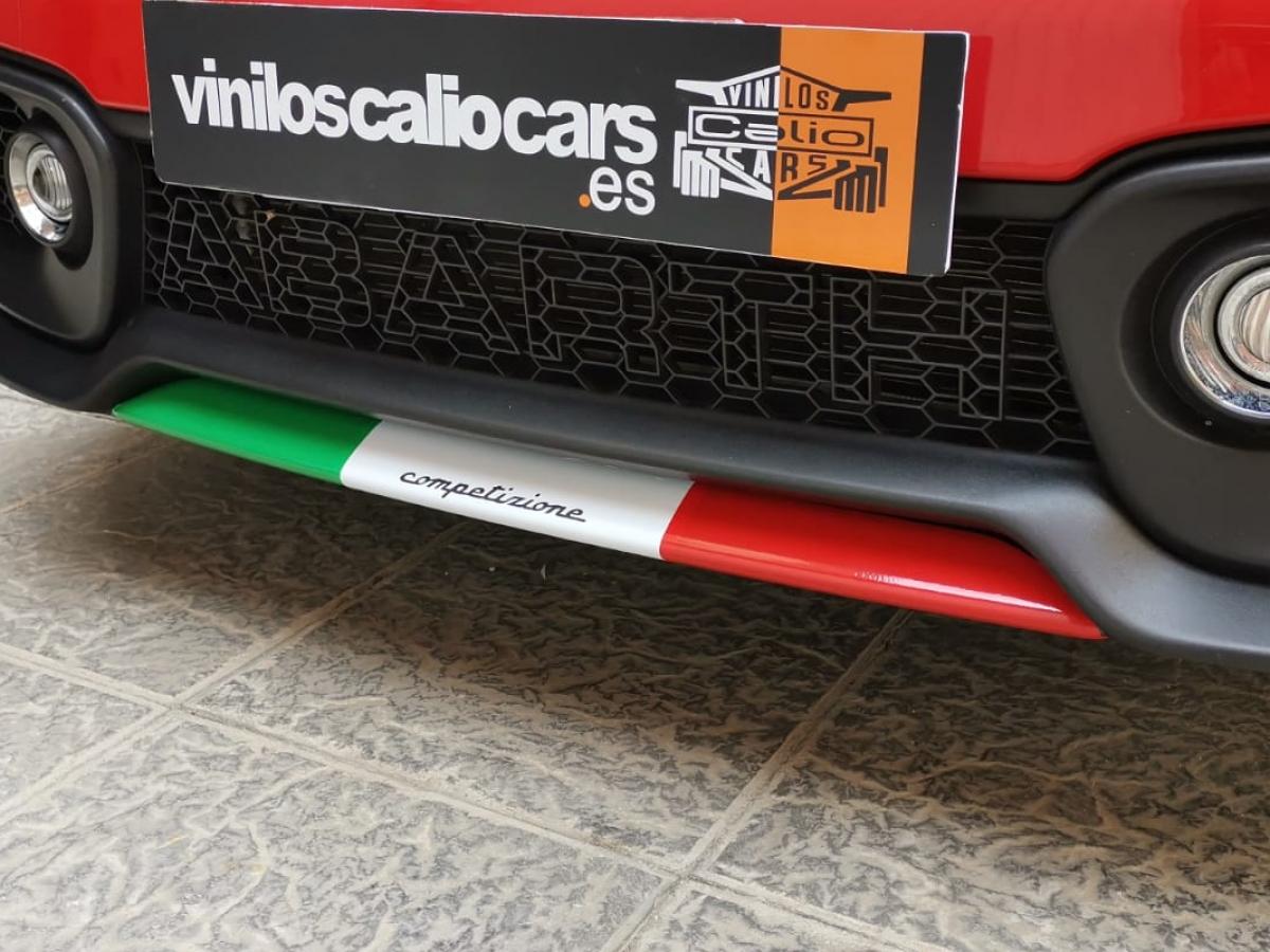 VINILOS COCHE Fiat abarth 500 PERSONALIZADO VINILOS CALIO CARS LOJA GRANADA