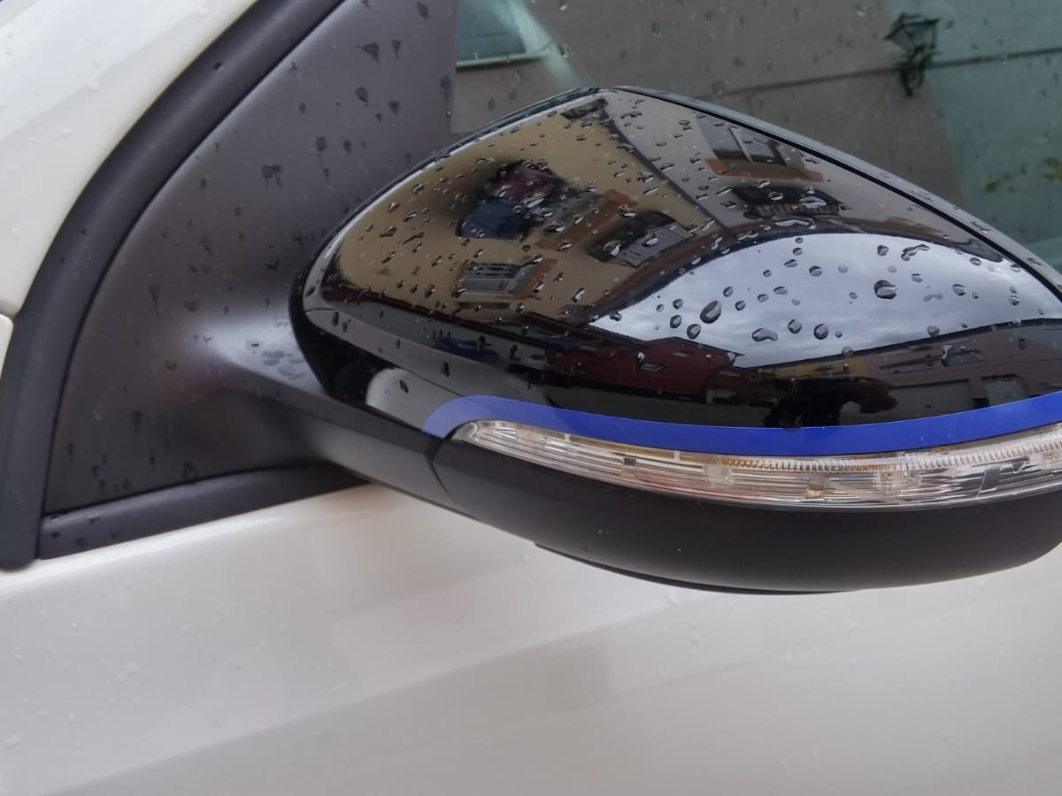 VINILOS RETROVISOR PERSONALIZADO VW GOLF MK6 VINILOS CALIO CARS LOJA GRANADA