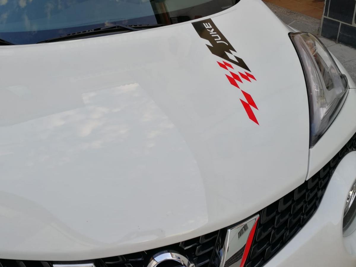 VINILOS COCHE NISSAN JUKE PERSONALIZADO VINILOS CALIO CARS LOJA GRANADA