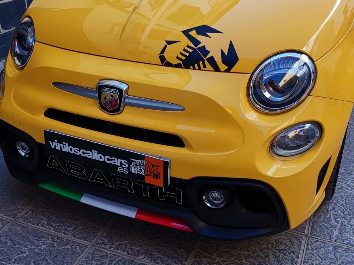 VINILOS COCHE Fiat abarth 500 PERSONALIZADOS VINILOS CALIO CARS LOJA GRANADA
