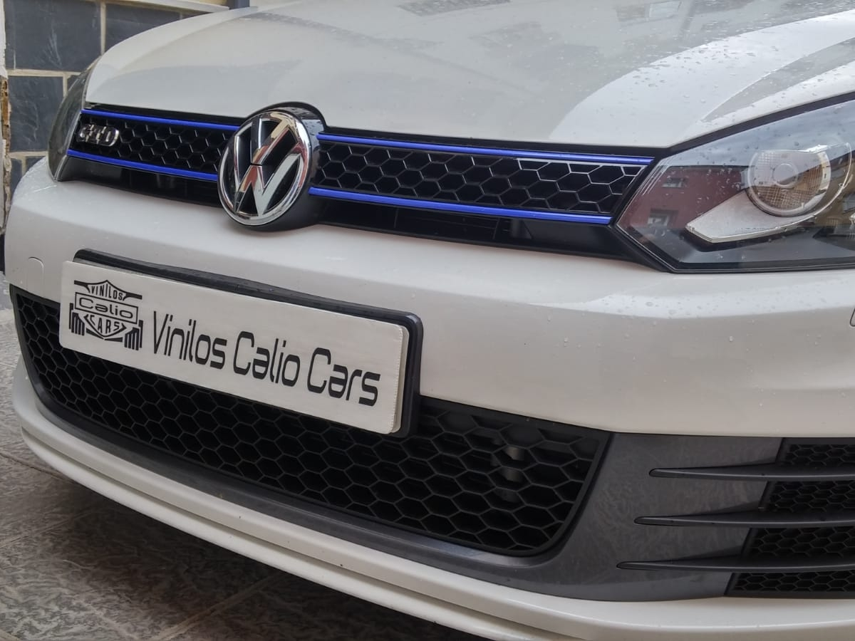 VINILOS PERSONALIZADOS VW GOLF MK6 VINILOS CALIO CARS LOJA GRANADA