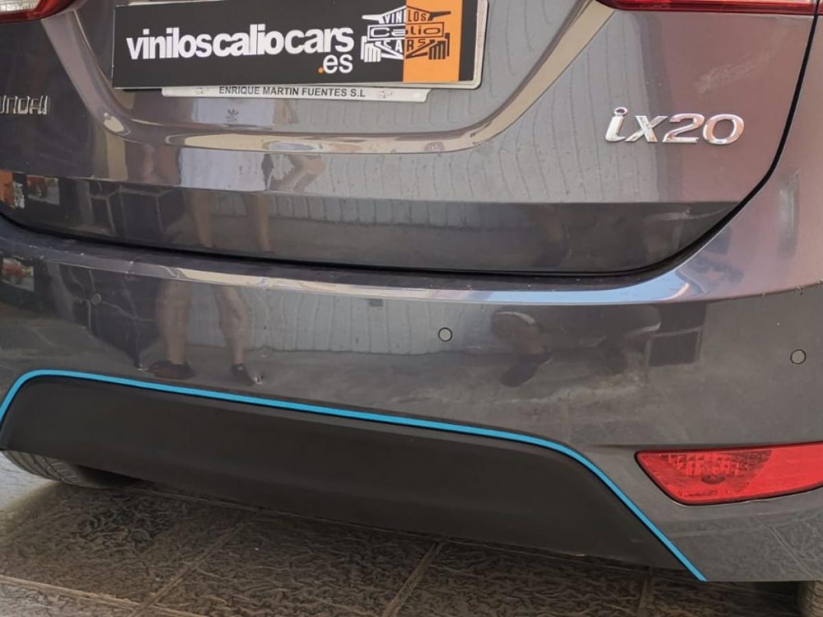 VINILOS COCHE PERSONALIZADOS HYUNDAI VINILOS CALIO CARS LOJA GRANADA
