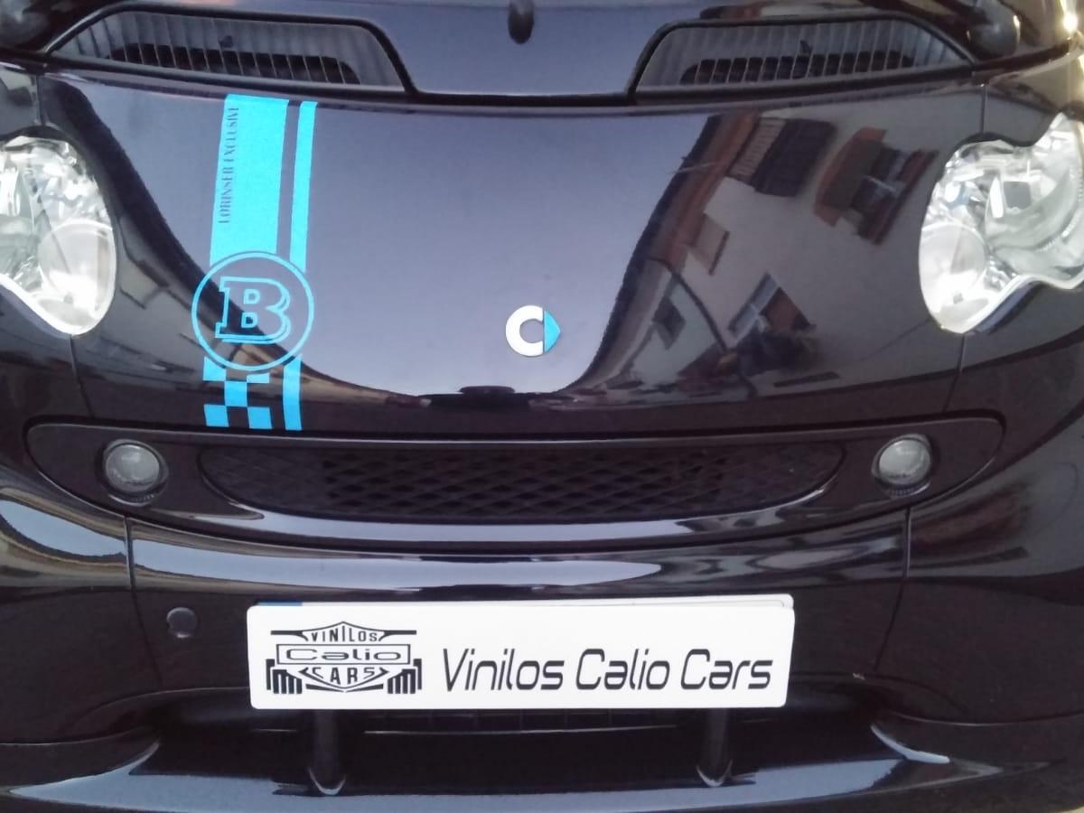 VINILOS SMART BRABUS PERSONALIZADO VINILOS CALIO CARS LOJA GRANADA