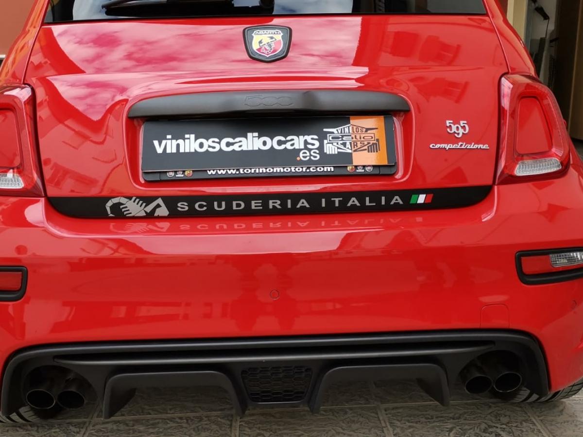 VINILOS COCHE Fiat abarth 500 competizione PERSONALIZADO VINILOS CALIO CARS LOJA GRANADA